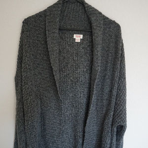 Mossimo Long Chunky Gray Cardigan